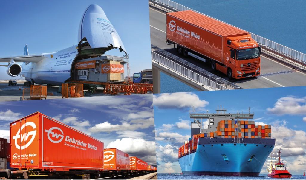 Gebrüder Weiss ist eines der führenden Logistikunternehmen in Europa.